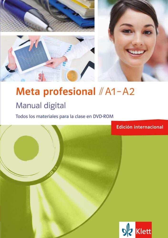 Meta Profesional A1 A2 Digital  Edición Internacional   Spanisch Für Den Beruf. DVD ROM  Meta Profesional   Spanisch Für Den Beruf