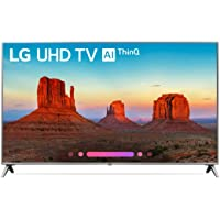 "LG Smart TV 43"" 4K 43UK6500 (Renewed)"