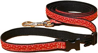 product image for The Good Dog Company--Six Ft ClickNGo Hemp Dog Leashes-Best Friends Patterns