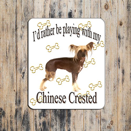 Chinese Crested Mouse Pad Chinese Crested Accessories
