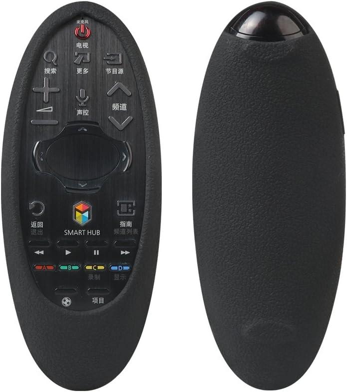 SIKAI Carcasa Protectora de Silicona para Samsung 3D Smart TV Remoto Funda Antideslizante con Correa de Mano (Negro): Amazon.es: Electrónica