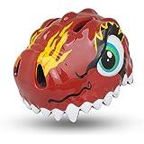 ÉSASAM 3D Design Dinosaur Infant/Toddler Bike Helmets For Kids