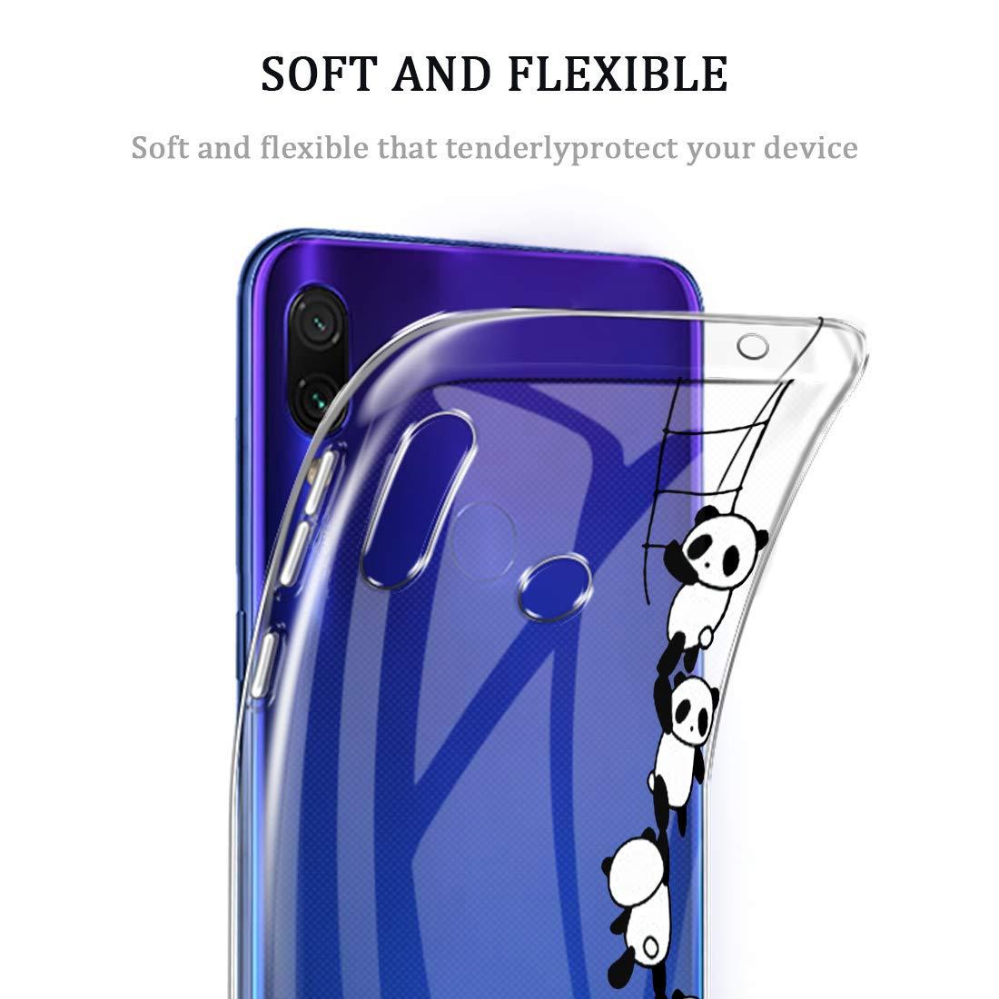 Amazon.com: Case for Xiaomi Redmi Note 7 Pro,Clear Cover ...