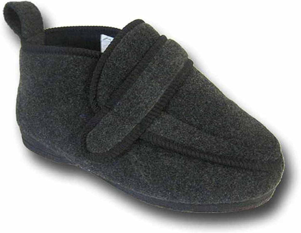 Coolers Mens Charcoal Grey Orthopaedic
