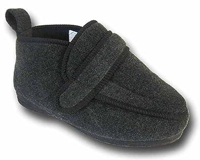 Coolers - Zapatillas de estar por casa para hombre negro Noir - Gris anthracite 10 UK U8GBamBP66
