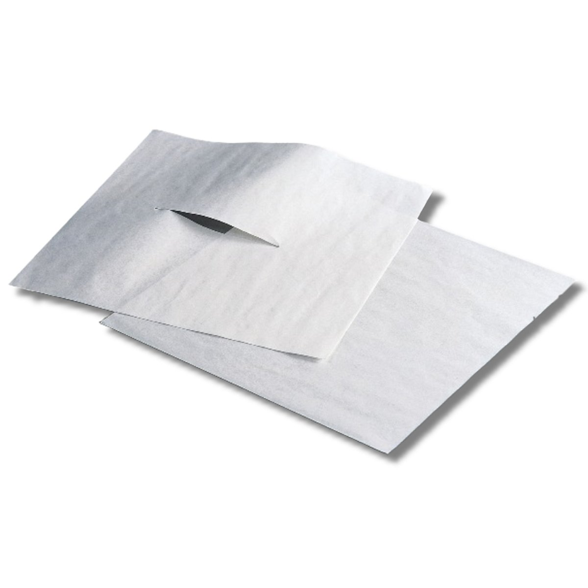 Humactive Massage and Chiropractic Table Headrest Tissue Sheets With Face Slit - 12 x 12 Inch, 1000 Sheets