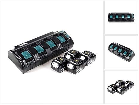 Makita Super Power Source Kit DC18SF - Cargador múltiple con ...