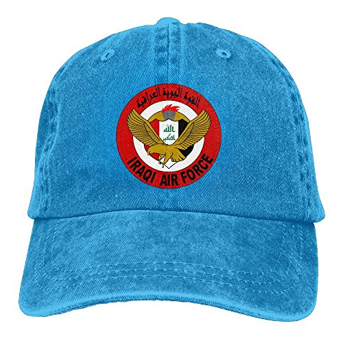 Adult Iraqi Air Force Roundel 2011 Sports Adjustable Structured Baseball Cowboy Hat