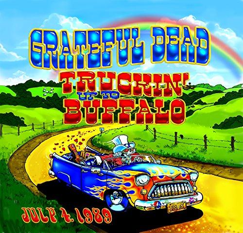 Vinilo : The Grateful Dead - Truckin Up to Buffalo: July 4 1989 (Oversize Item Split, 5 Disc)