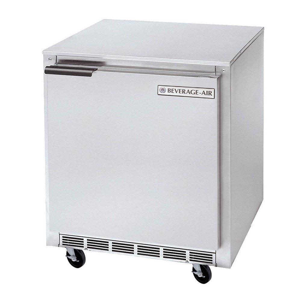 Beverage Air UCF24 Single-Section Undercounter Freezer 5.8 cu. ft.
