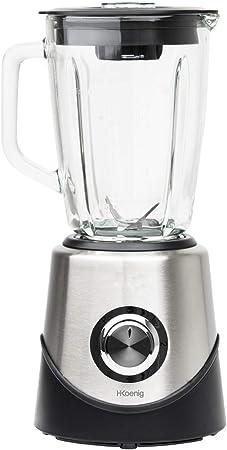 H.Koenig MX 15 Batidora de Vaso para Smoothies y Zumos, Licuadora para Verduras y Frutas