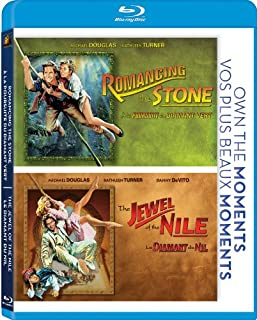 Romancing the Stone / Jewel of the Nile [Blu-ray] (B007H9CO6K) | Amazon price tracker / tracking, Amazon price history charts, Amazon price watches, Amazon price drop alerts