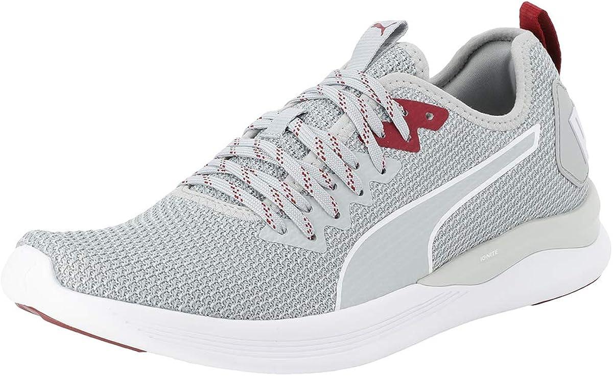 Puma Ignite Flash FS - Zapatillas de Running para Hombre, Color Gris, Talla 43 EU: Amazon.es: Zapatos y complementos