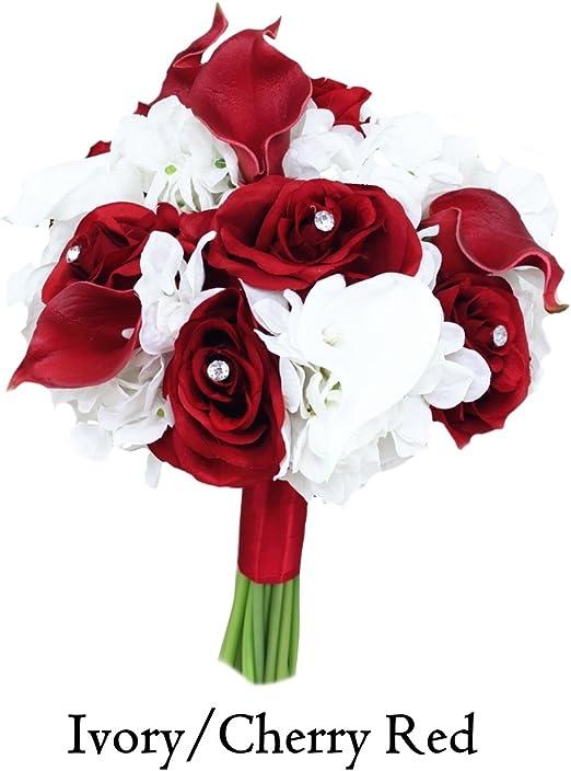 Amazon Com Angel Isabella Beautiful Hand Tied Bouquet Hydrangea
