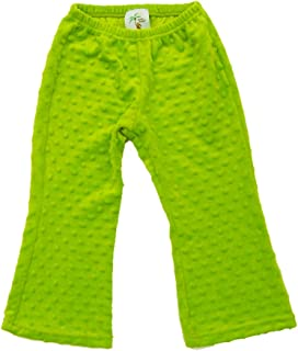 product image for Cheeky Banana Little Girls Minky Dot Pant Lime