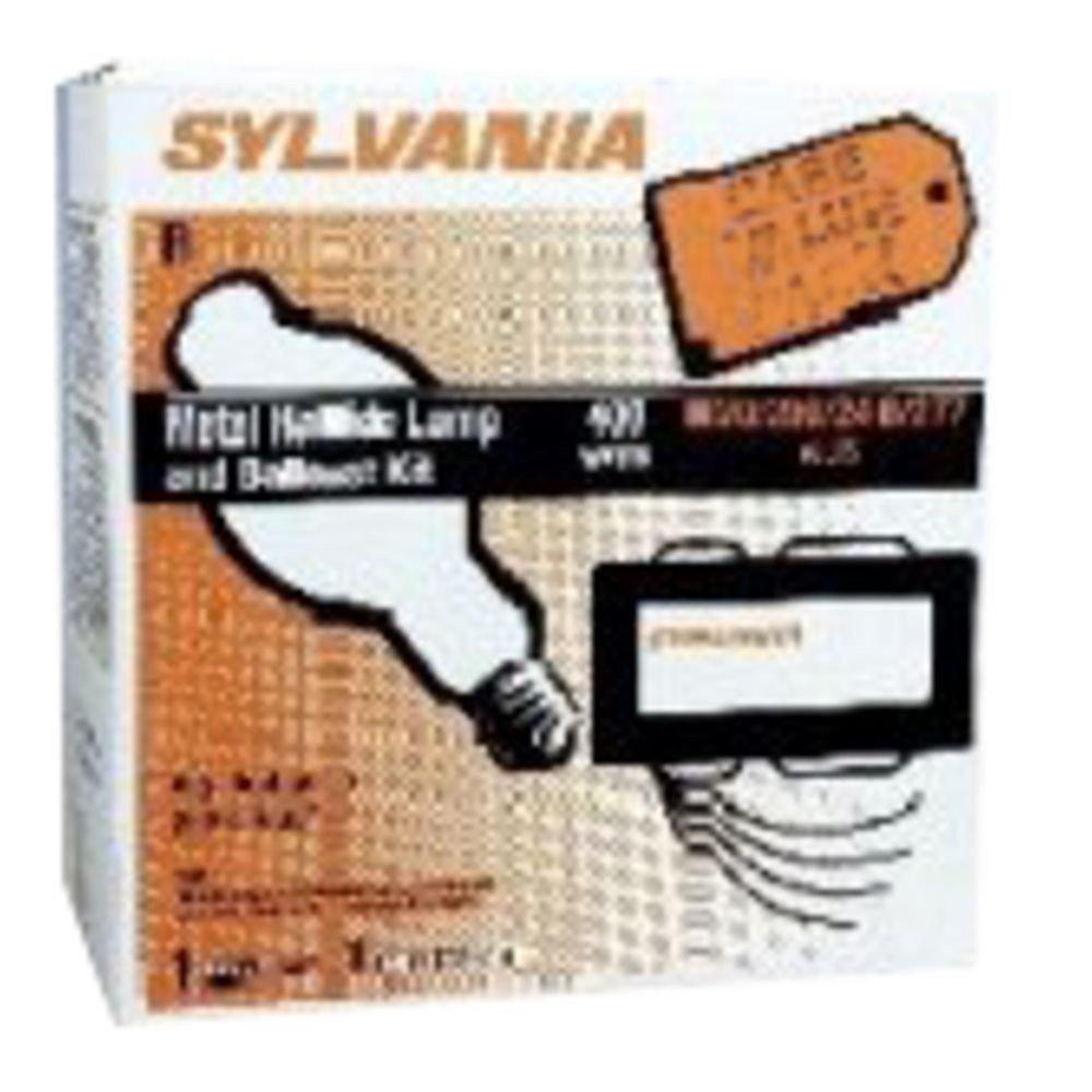 Sylvania 67533 (12-Pack) LU400/ECO 400-Watt High Pressure Sodium HID Light Bulb, 2100K, 50000 Lumens, E30 Mogul Base