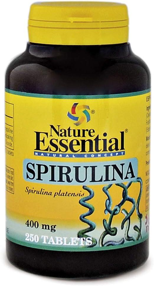 Espirulina 400 mg. 250 comprimidos: Amazon.es: Salud y cuidado personal