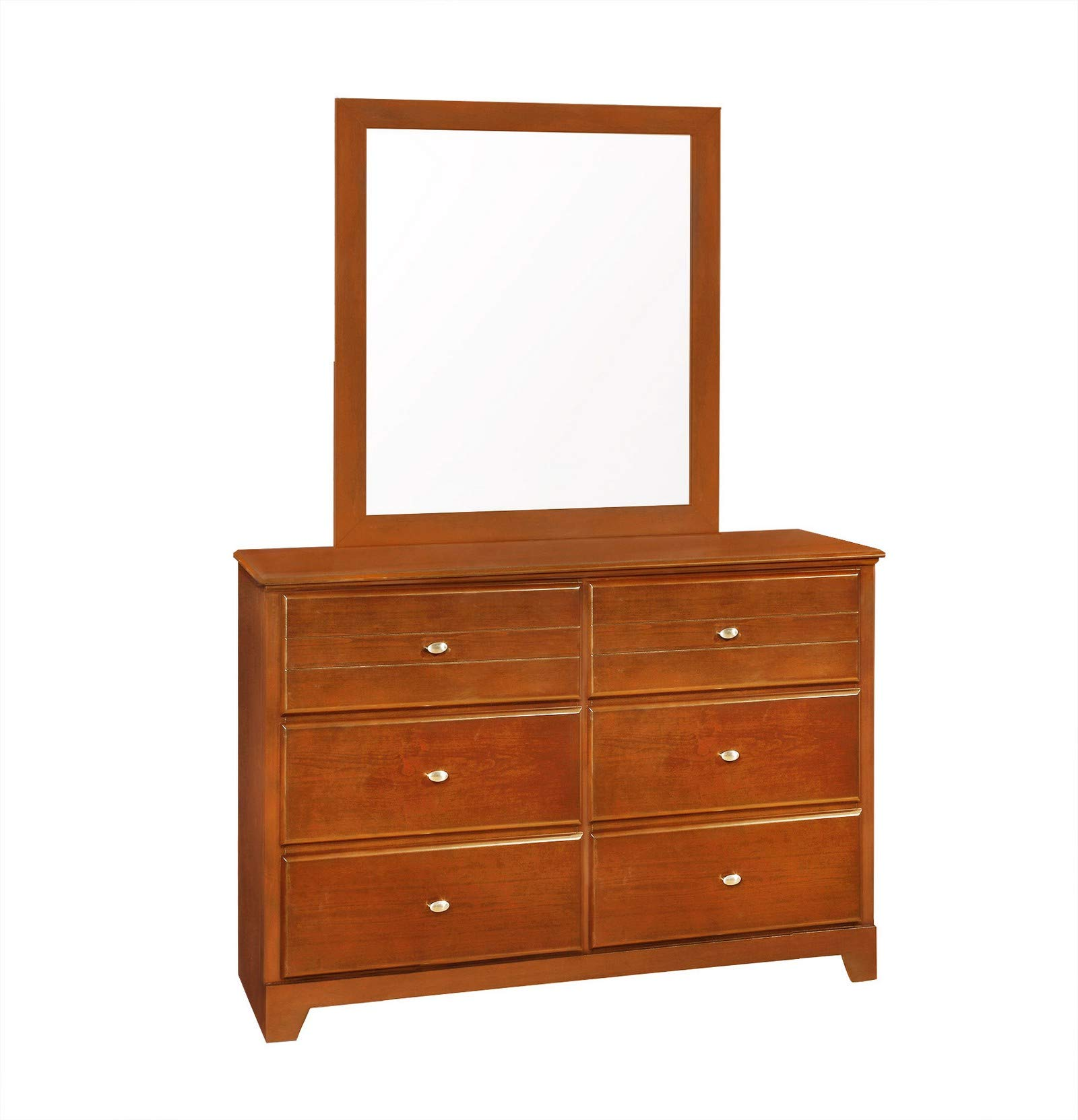 Coaster 400814 Home Furnishings Mirror, Oak