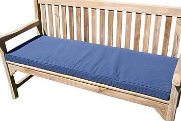 Astonishing Garden Furniture Cushion Cushion For 3 Seater Garden Bench Navy Blue Download Free Architecture Designs Ogrambritishbridgeorg