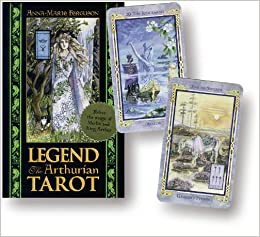 Legend Tarot Deck: The Arthurian Tarot: Amazon.es: Anna ...
