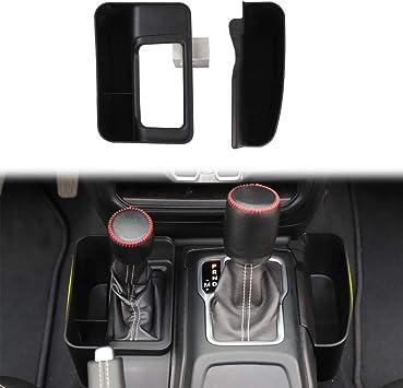 Auto Gear Shift Storage Box Center Console Organizer Tray Console Side Pocket Organizer Phone Storage Compartment for 2018-2020 Jeep Wrangler JL JLU /& Gladiator JT Truck JL Console Organizer