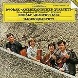 Dvorak: String Quartet, Op. 96; Cypresses / Kodaly: Quartett No. 2