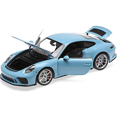 2020 911 GT3 Touring Light Blue Limited Edition to 300 Pieces Worldwide 1/18 Diecast Model Car by Minichamps 110067420: Toys & Games