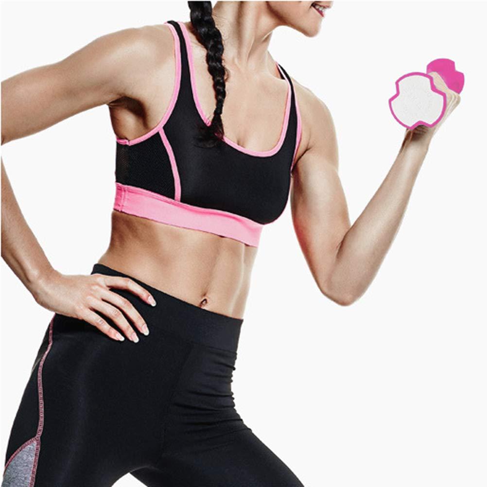 LIOOBO un par 0.7 kg de Ejercicio, Mancuernas, Barra ergonómica para Mujeres con Barra de Ejercicios para Yoga (Rosa): Amazon.es: Deportes y aire libre