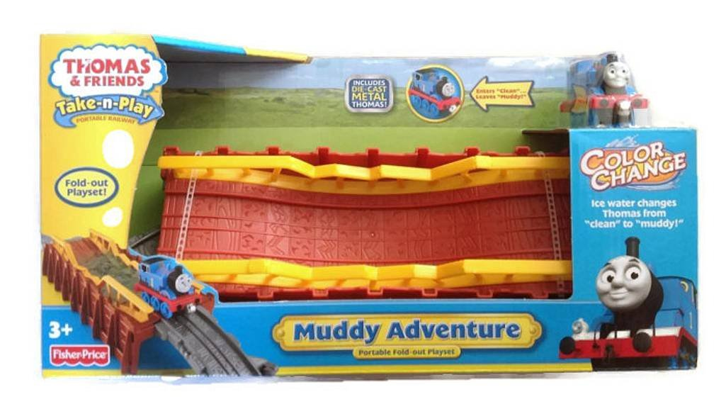 Thomas & Friends Take-N-Play Muddy Adventure Portable Fold
