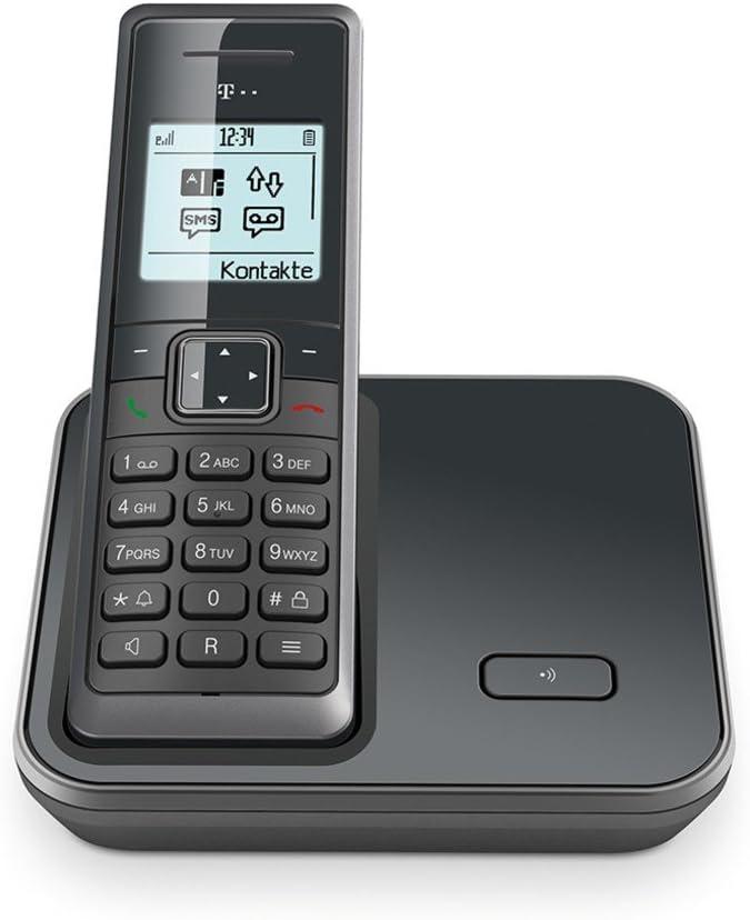 Telekom Sinus 206 Graphit Schnurlos Analog Telefonbuch Elektronik