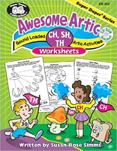 Awesome Artic Sound Loaded CH, SH, Th Artic Activities Worksheets ...