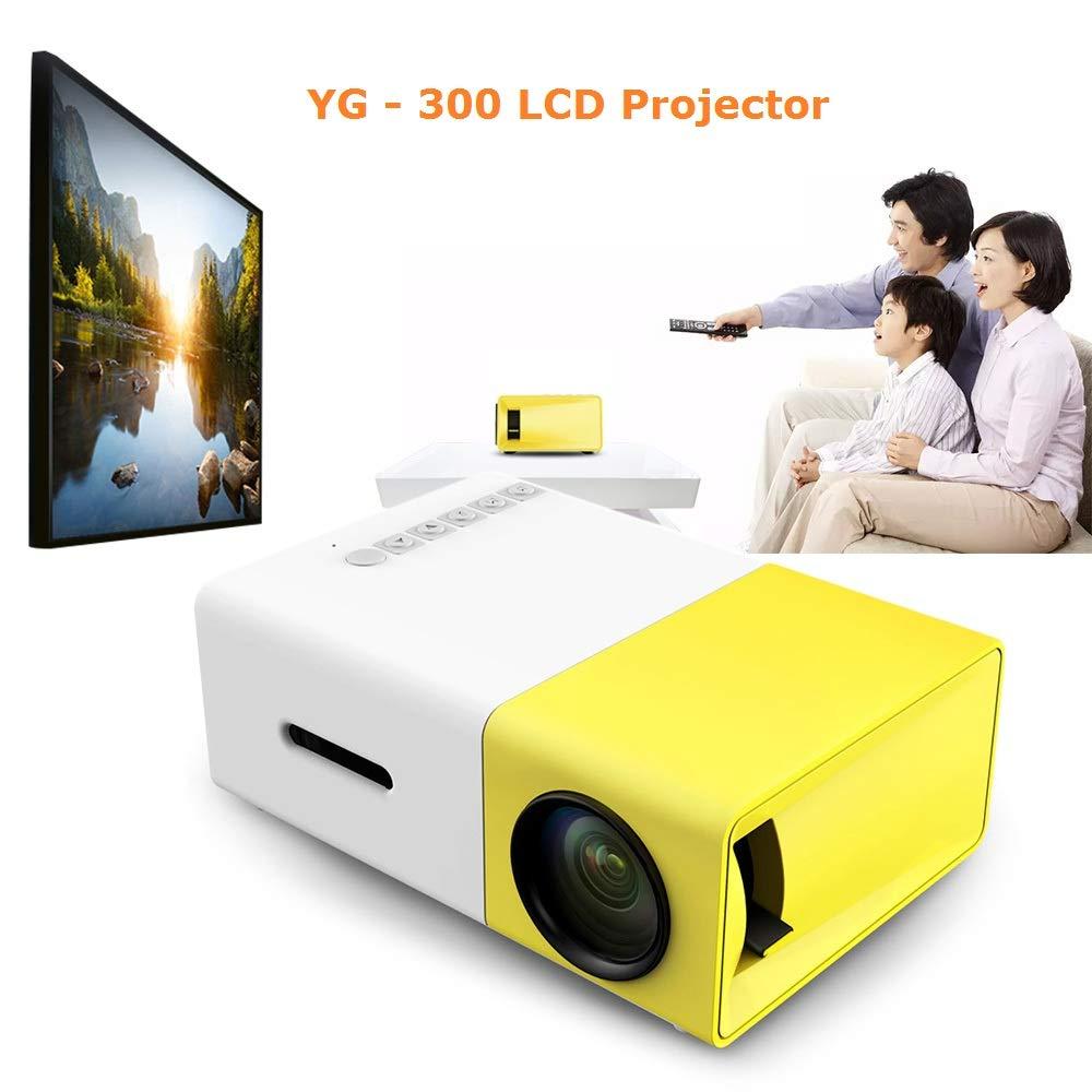 Amazon.com: ZUEN Mini LCD Projector Full HD Video Projector ...