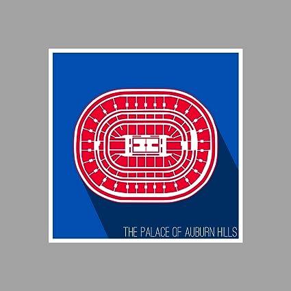 Amazoncom Artsycanvas Detroit The Palace Of Auburn Hills