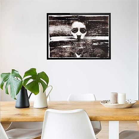 Amazon.com: Iusun Happy Halloween Wall Sticker Horror Ghost ...