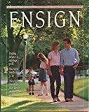 img - for Ensign August 1987 book / textbook / text book