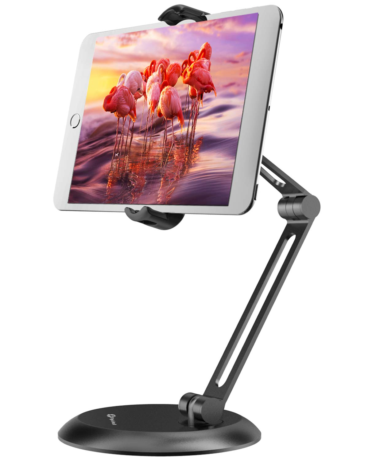 Adjustable Tablet Stand Desk Holder (360° Swivel) for iPad Pro Air, Nintendo Switch, Kindle, All iPhone and Android Phone