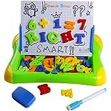 Giochi Giocattoli Bambini Lavagna Magnetica con Lettere Numeri Magnetiche