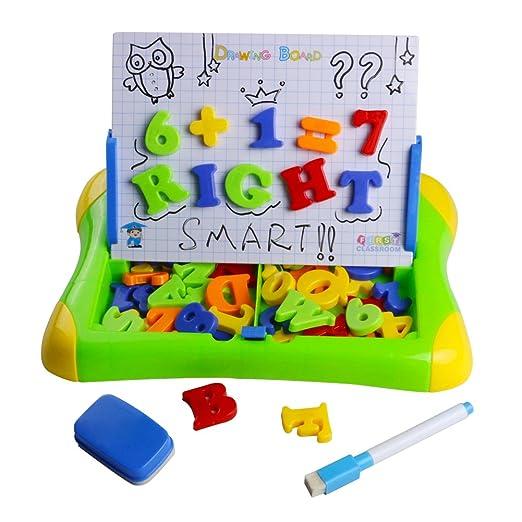 19 opinioni per Giochi Giocattoli Bambini Lavagna Magnetica con Lettere Numeri Magnetiche