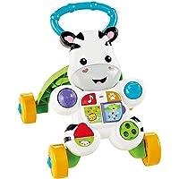 Fisher-Price Cebra parlanchina primeros pasos, correpasillos bebé +6 meses (Mattel DLD84)