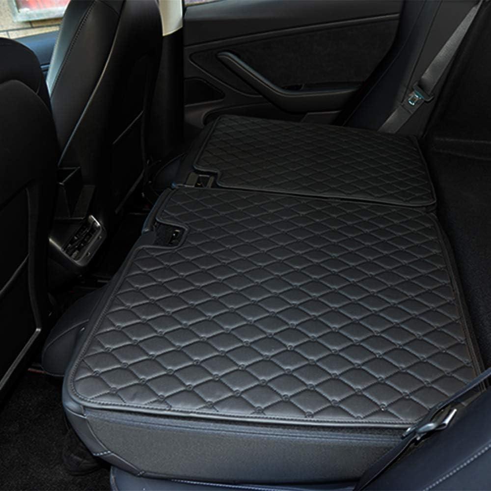 Topfit Tesla Model 3 tapis de sol en cuir PU insipide et /écologique pur Tesla mod/èle 3 Noir
