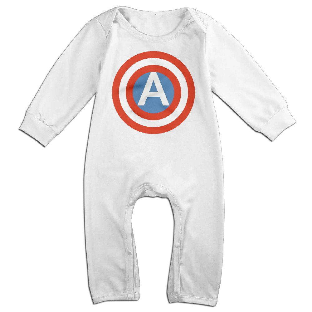HOHOE Boys /& Girls American Shield Long Sleeve Jumpsuit Outfits