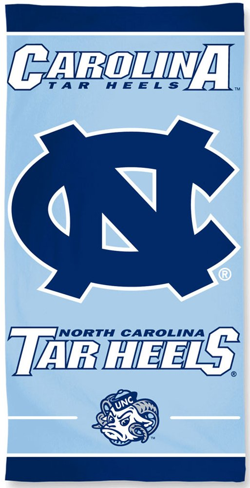 McArthur UNC University of North Carolina Tar Heels NCAA 30 X 60 Inch Beach /& Dorm Towel
