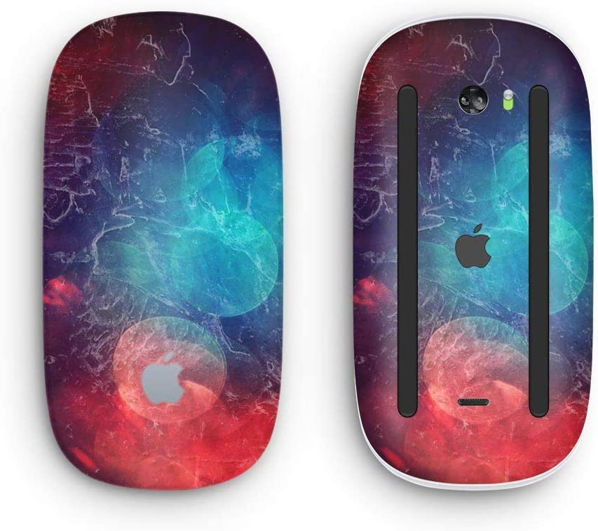 with Multi-Touch Surface Wireless, Rechargable Design Skinz Premium Vinyl Decal for The Apple Magic Mouse 2 Abstract Fire /& Ice V7