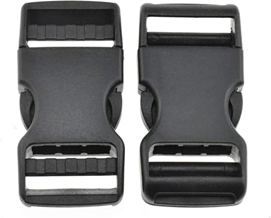 SIDE QUICK RELEASE BUCKLE,SLIDER Backpack Connector Clasp DIY Tactical Bag Gear
