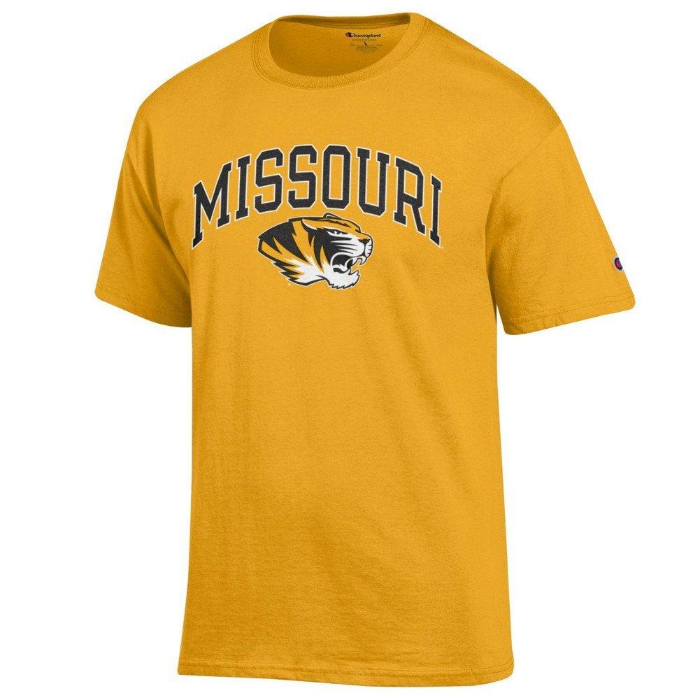 Elite Fan Missouri Tigers Men's Short Sleeve Arch