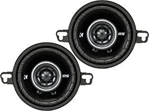 Kicker 43DSC3504 3-1/2-Inch 3.5-Inch 30W 2-Way Speakers DSC35 DS35 Coax (Pair)
