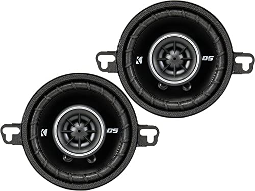 Kicker 43DSC3504 2-Way Coaxial Speakers