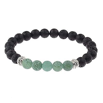 b4c3c289d98e Amazon.com  Hebel Healing Crystal Beads Bracelet Chakra Beads Charm ...