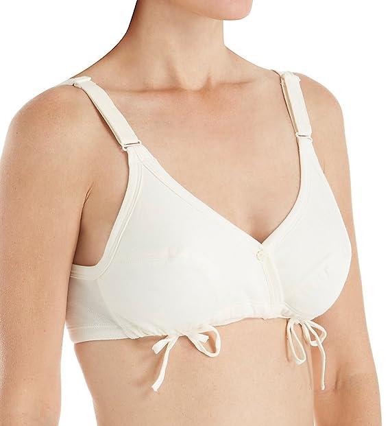 Cottonique Hypoallergenic Para mujer sujetador deportivo de recambio para puertas de-corbata: Amazon.es: Ropa y accesorios
