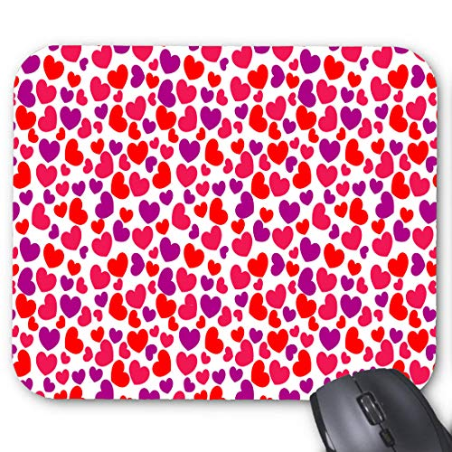 Hearts Clip Art Power Point Mouse pad 11.8 X 9.8 in